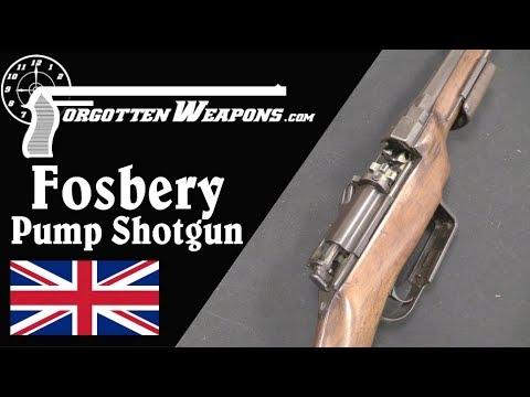 Fosbery's Pump Shotgun: An AR15 Bolt in 1891