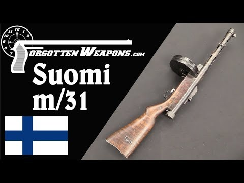 Suomi m/31 – Finland's Excellent Submachine Gun