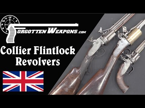 Collier Flintlock Revolvers