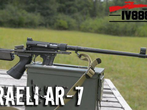 Israeli AR-7 Pilot Survival Rifle