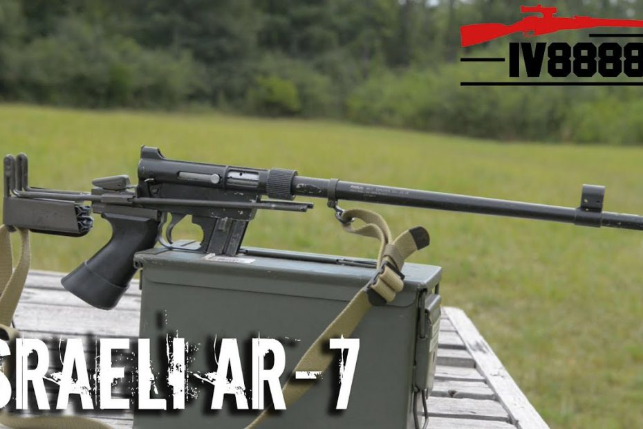 Israeli AR-7 Pilot Survival Rifle