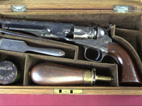 Colt 1862 Police Pocket Revolver (Cased)