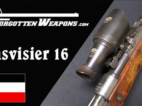 Germany's WW1 Zeiss Bifocal Scope: the Glasvisier 16