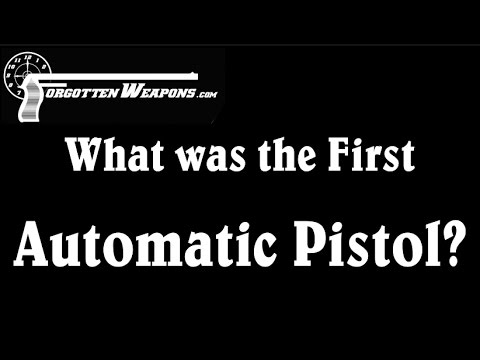What was the First Automatic Pistol?