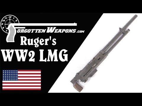 Bill Ruger's Prototype WW2 Light Machine Gun