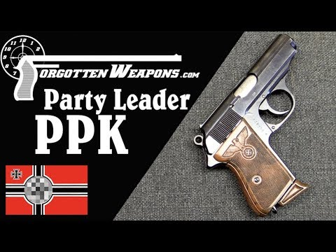Three Variations of Party Leader PPK Pistols