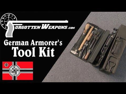 Kleiner Waffenwerkzeugsatz – A German Armorer's Tool Kit