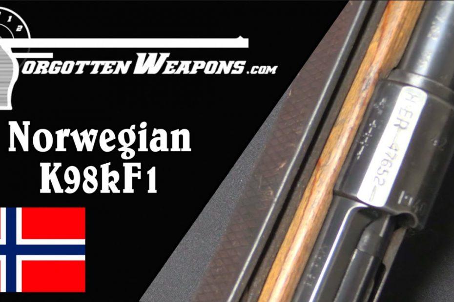 Norwegian K98kF1 Repurposed Mauser