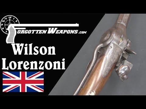 Wilson's Lorenzoni Repeating Flintlock Musket