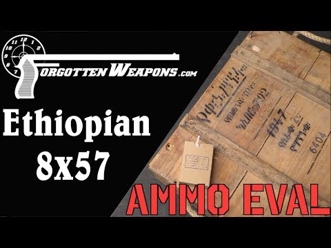 Ammunition Evaluation: Ethiopian 7.92x57mm Mauser