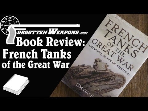 Book Review: French Tanks of the Great War