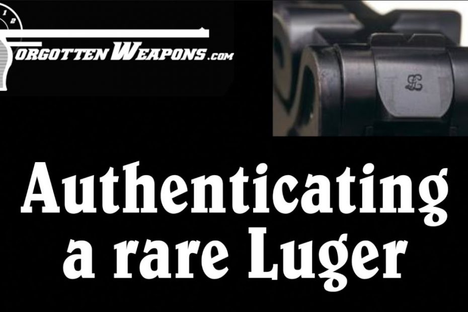 Authenticating a Very Rare GL Script Luger