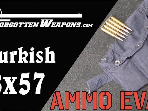 Ammunition Evaluation: 1941 Turkish 8mm Mauser