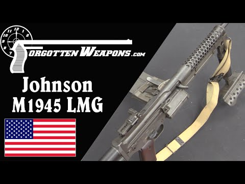 M1944E1/M1945 Johnson Light Machine Gun