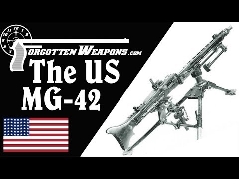 An American .30-06 MG-42, and GPMGs after WWII