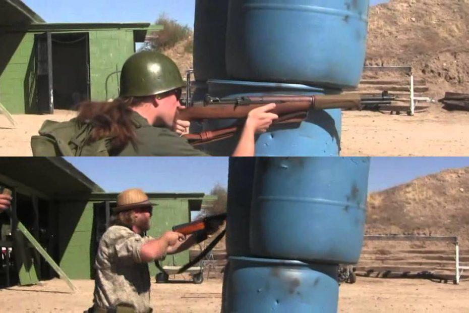 2-Gun Action Challenge Match: SVT40 vs M1 Garand