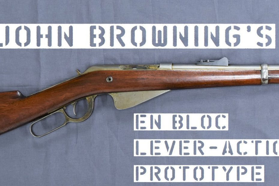 TAB Episode 57: John Browning's 1892 En Bloc Lever-Action Prototype