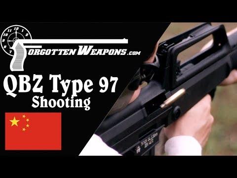Shooting the Norinco QBZ/Type 97 NSR