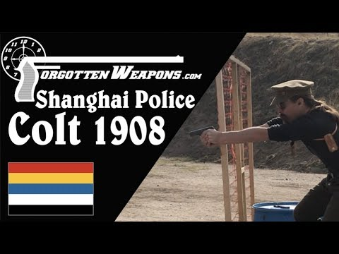 Shanghai Municipal Police Colt 1908 in Competition