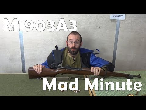 Mad Minutes: Springfield 1903A3 .30-06