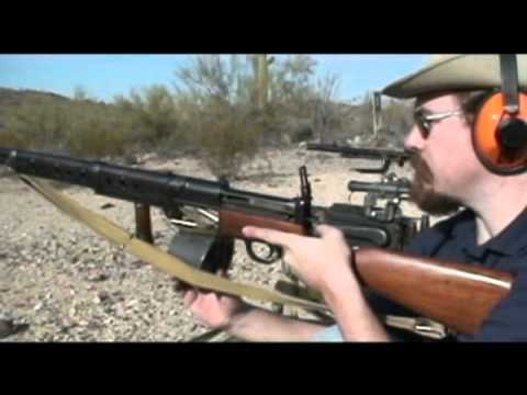 Shooting the British Farquhar-Hill rifle
