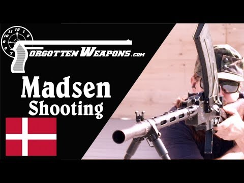 Shooting the Madsen LMG – The First True LMG