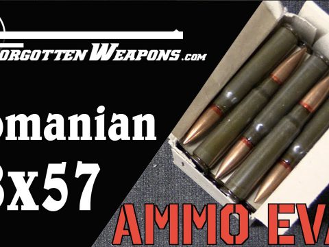 Ammo Evaluation: Romanian 8mm Mauser