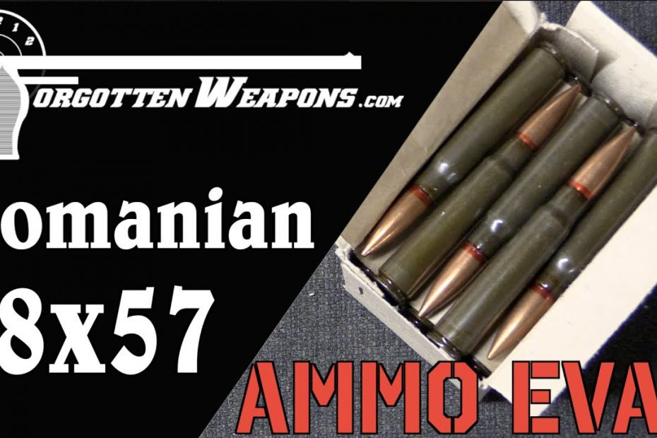 Ammo Evaluation: Romanian 8mm Mauser