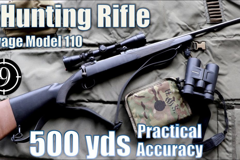 A Hunting Rifle 🦌 to 500yds: Practical Accuracy