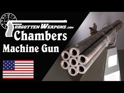 Chambers Flintlock Machine Gun from the 1700s