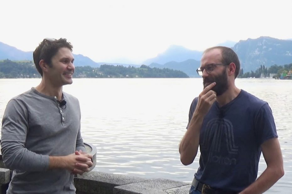 Mike and TFBTV's James Reeves: impromptu discussion by Lake Lucerne!