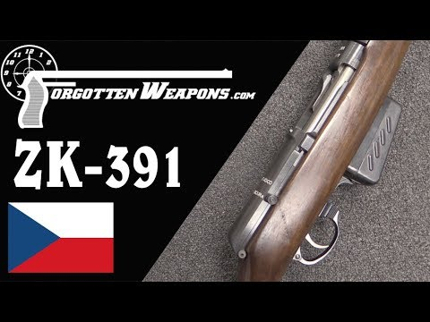 Italian Trials Czech ZK-391 Semiauto Rifle