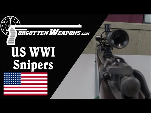 US WWI Sniping Rifles (USMC & Army)