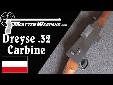 The .32ACP Dreyse Light Carbine