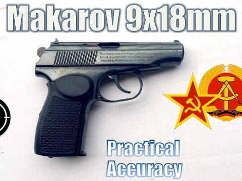 Makarov PM (E. German) – Close Range Practical Accuracy