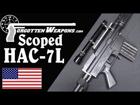 Holloway HAC-7L: A Specifically Left-Handed Battle Rifle