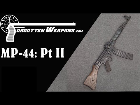 Sturmgewehr MP-44 Part II: History & Implementation