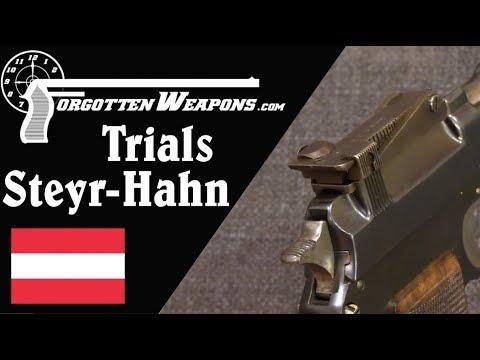 Unique Military Trials Steyr-Hahn M1911 Pistol