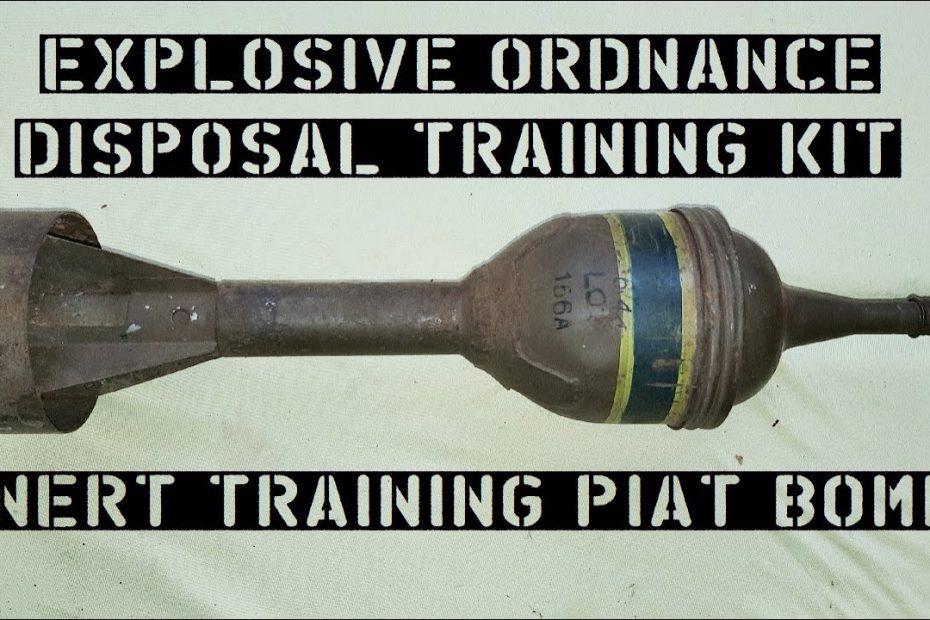 Surplus Zone: PIAT EOD Training Bomb