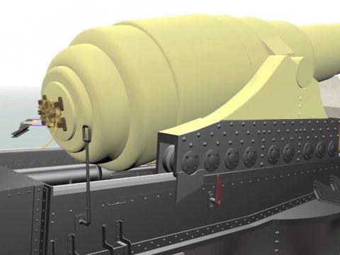 Armstrong 100-ton gun