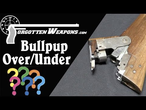 Experimental Bullpup Over/Under Shotgun with a Secret