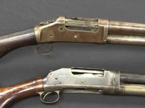 Winchester 1893 & 1897 Pump Shotguns