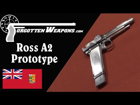 Unique Ross Experimental A2 Pistol Prototype
