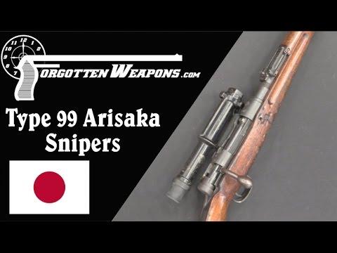 Type 99 Arisaka Sniper Rifles