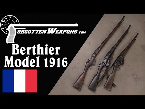The Berthier Gets an Upgrade: The Model 1916