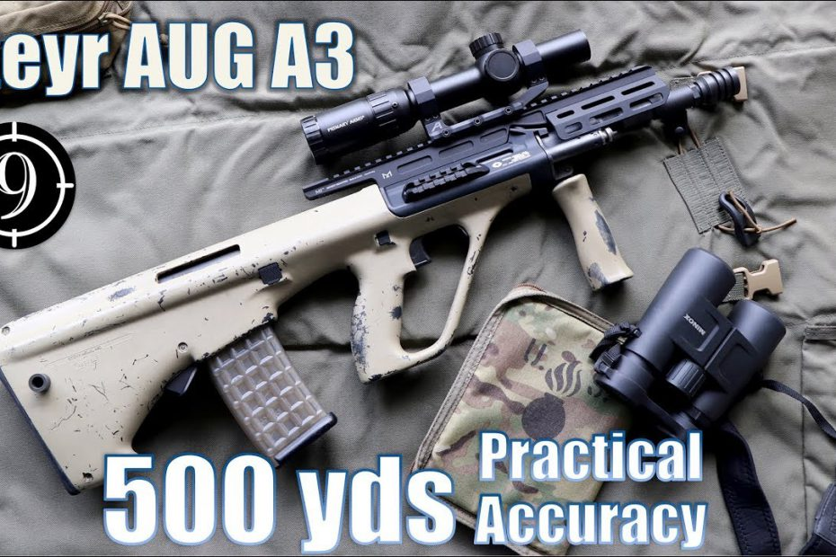 Steyr AUG A3 to 500yds: Practical Accuracy (w/ Primary Arms ACSS 1-6x Raptor)