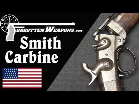 Civil War Smith Carbine and its Rubber Cartridges