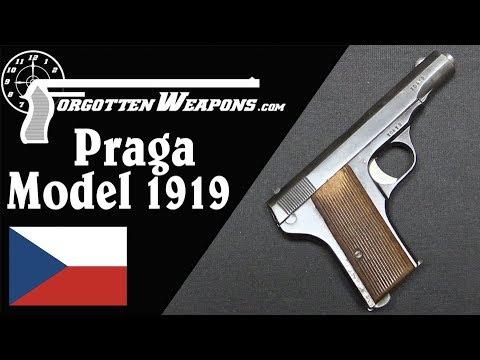 Czechoslovakia's First Pistol: Praga Model 1919
