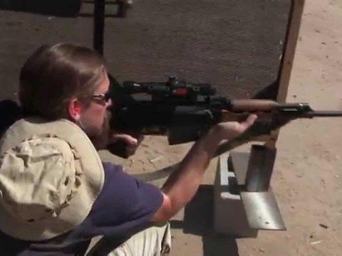 Yugo M76 Sniper in the 2-Gun Action Challenge