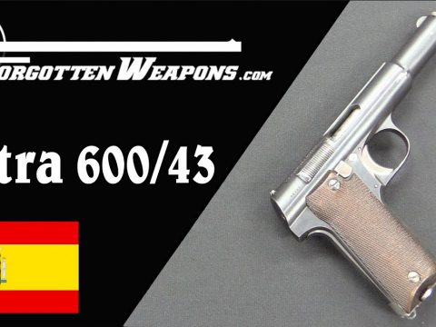 Astra 600/43: A Straight Blowback 9mm for the Wehrmacht